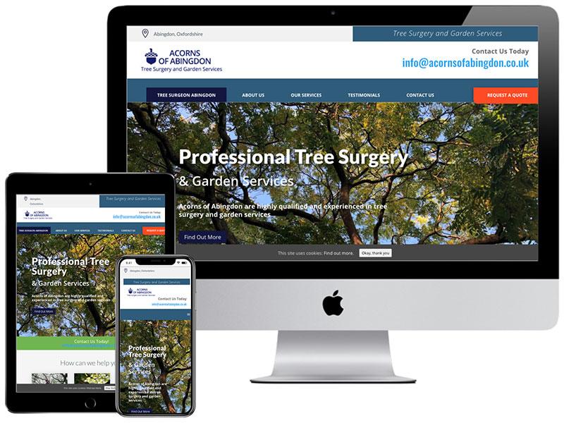 Web Design Portfolio - Acorns of Abingdon