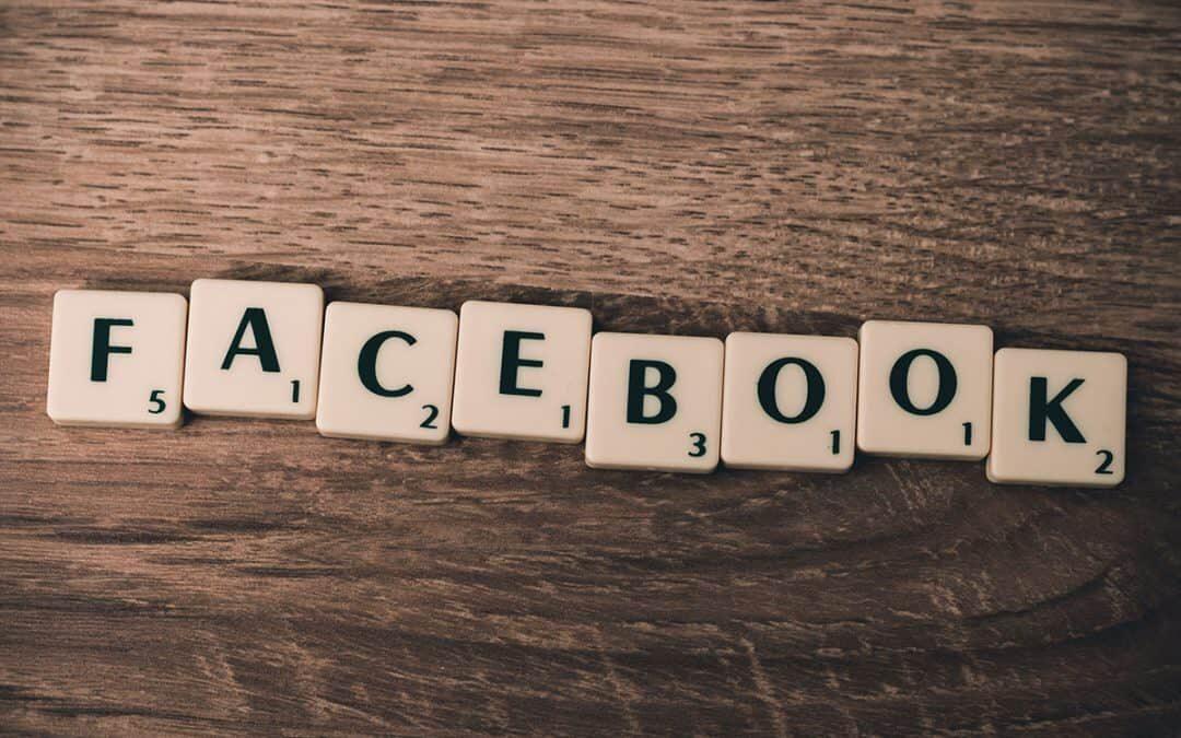 Facebook PPC scrabble tiles