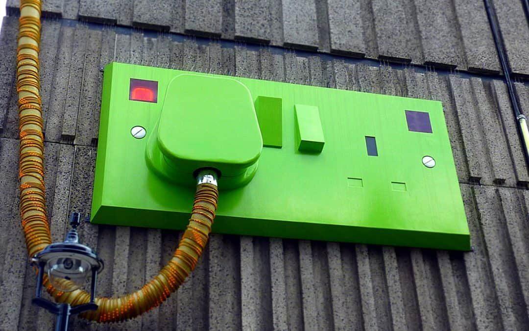 Plugins - Green socket and plug