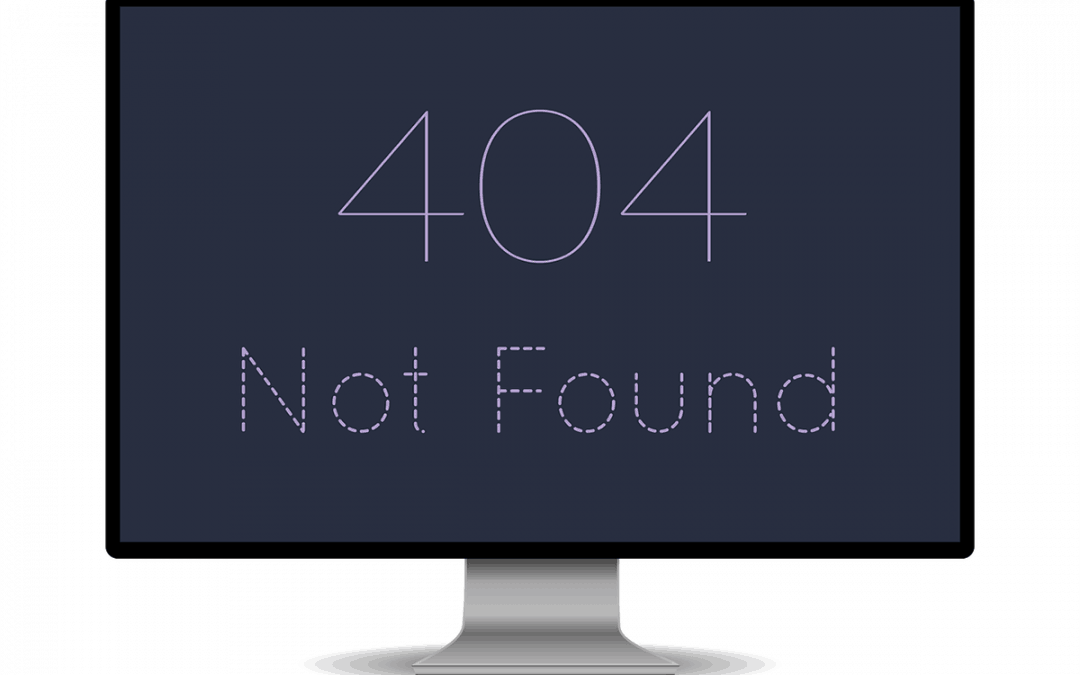 My website doesn't work…