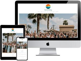 One-Page Website - Fuerte Fine Weddings