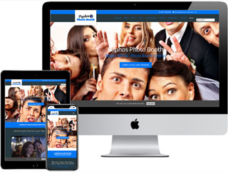 One-Page Website - Paphos Photo Booth